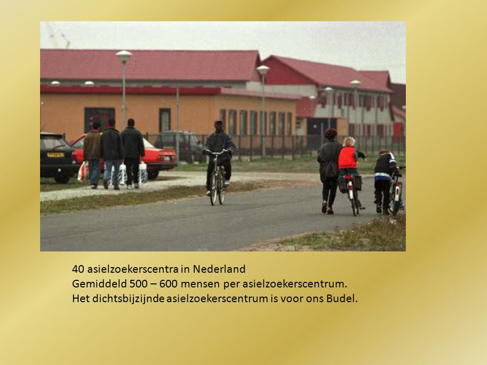 40 asielzoekerscentra in Nederland