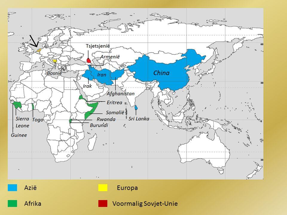 Azië Europa Afrika Voormalig Sovjet-Unie