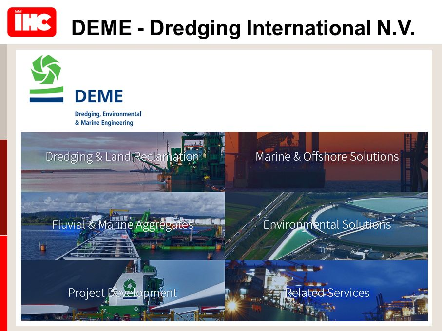 DEME - Dredging International N.V.