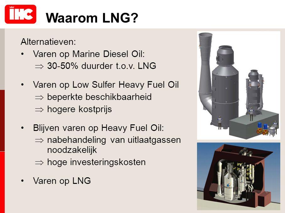 Waarom LNG Alternatieven: Varen op Marine Diesel Oil: