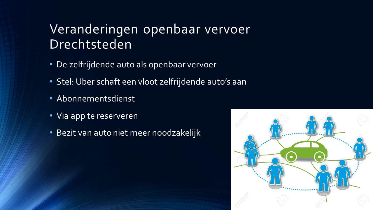 Veranderingen openbaar vervoer Drechtsteden