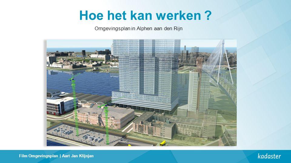 Omgevingsplan in Alphen aan den Rijn