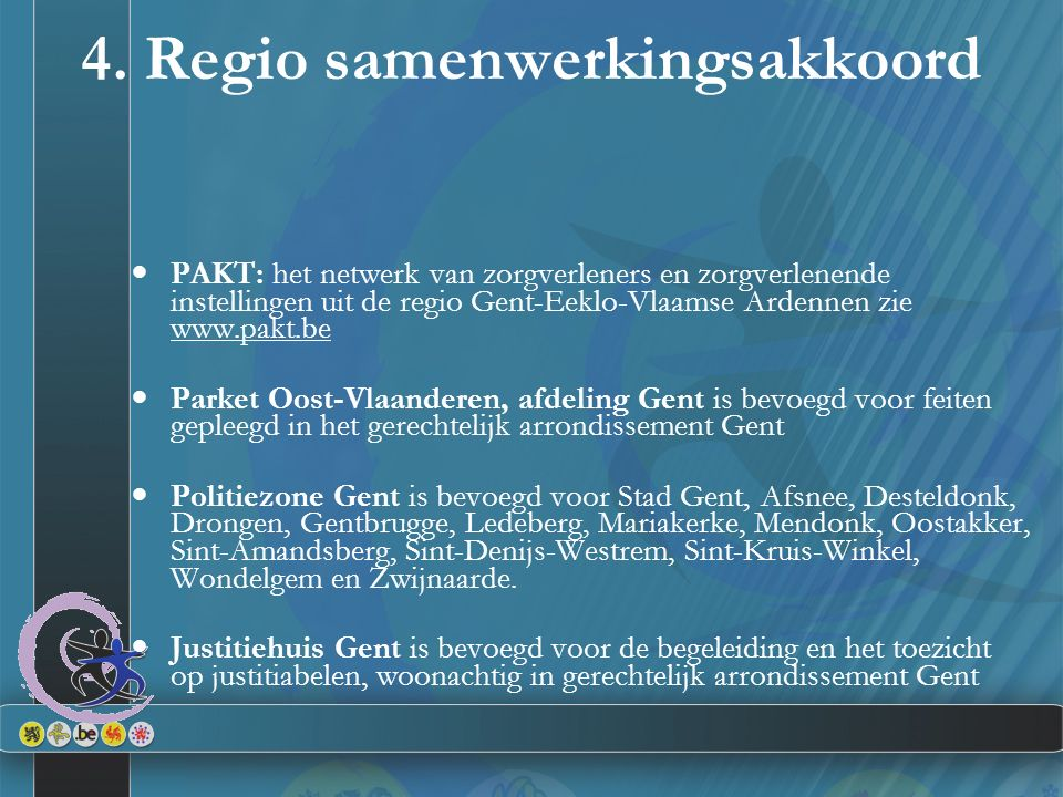 4. Regio samenwerkingsakkoord