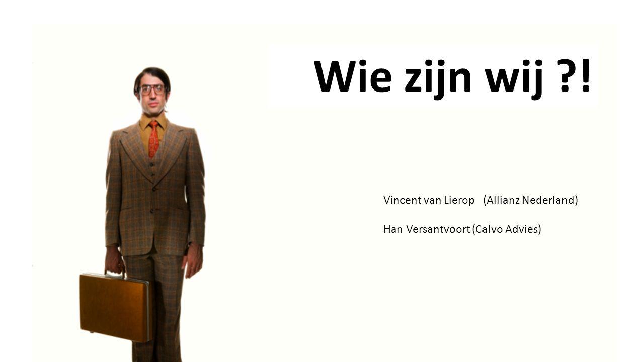 Wie zijn wij ! Vincent van Lierop (Allianz Nederland)