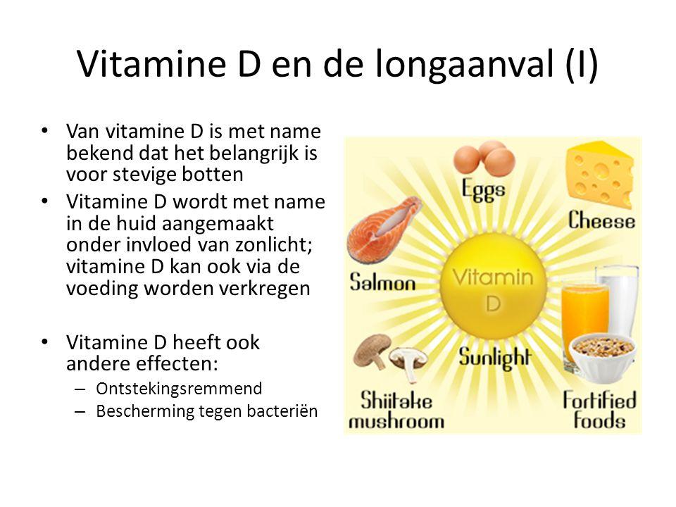 Vitamine D en de longaanval (I)