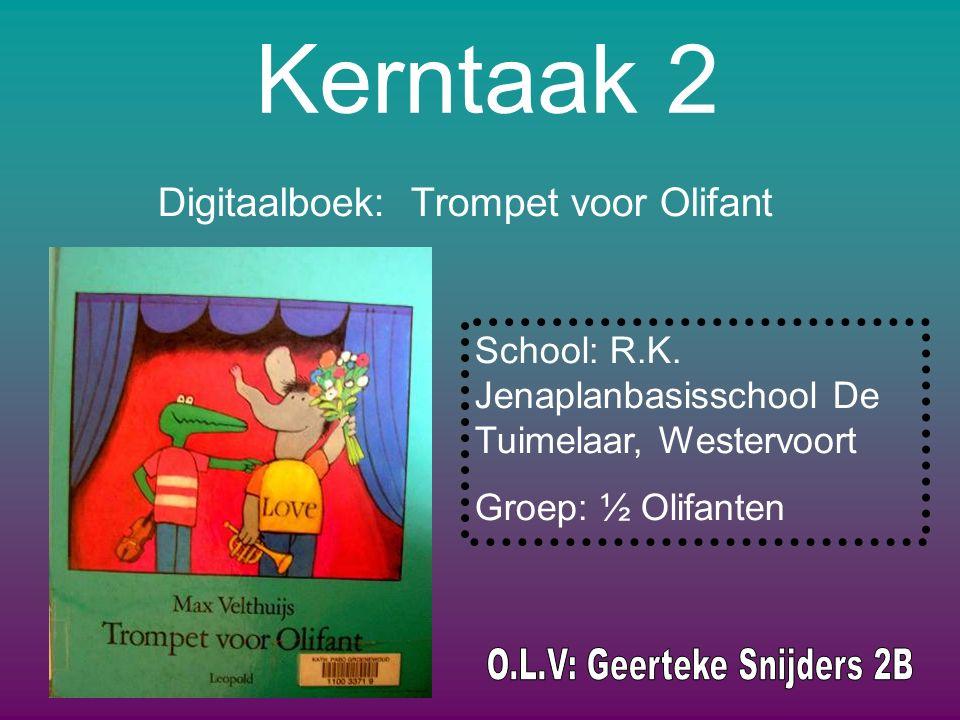 Digitaalboek: Trompet voor Olifant