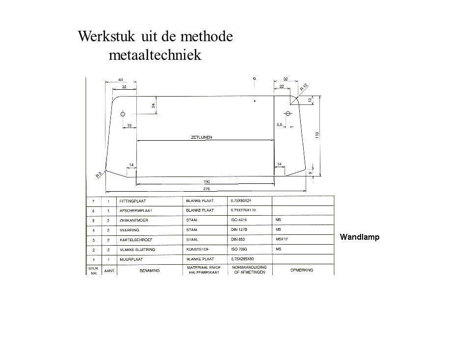 Werkstuk uit de methode metaaltechniek