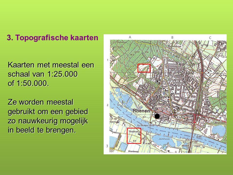 3. Topografische kaarten
