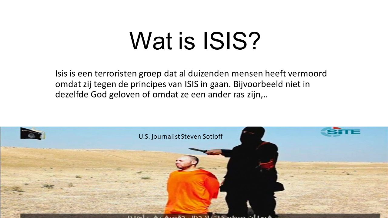Wat is ISIS