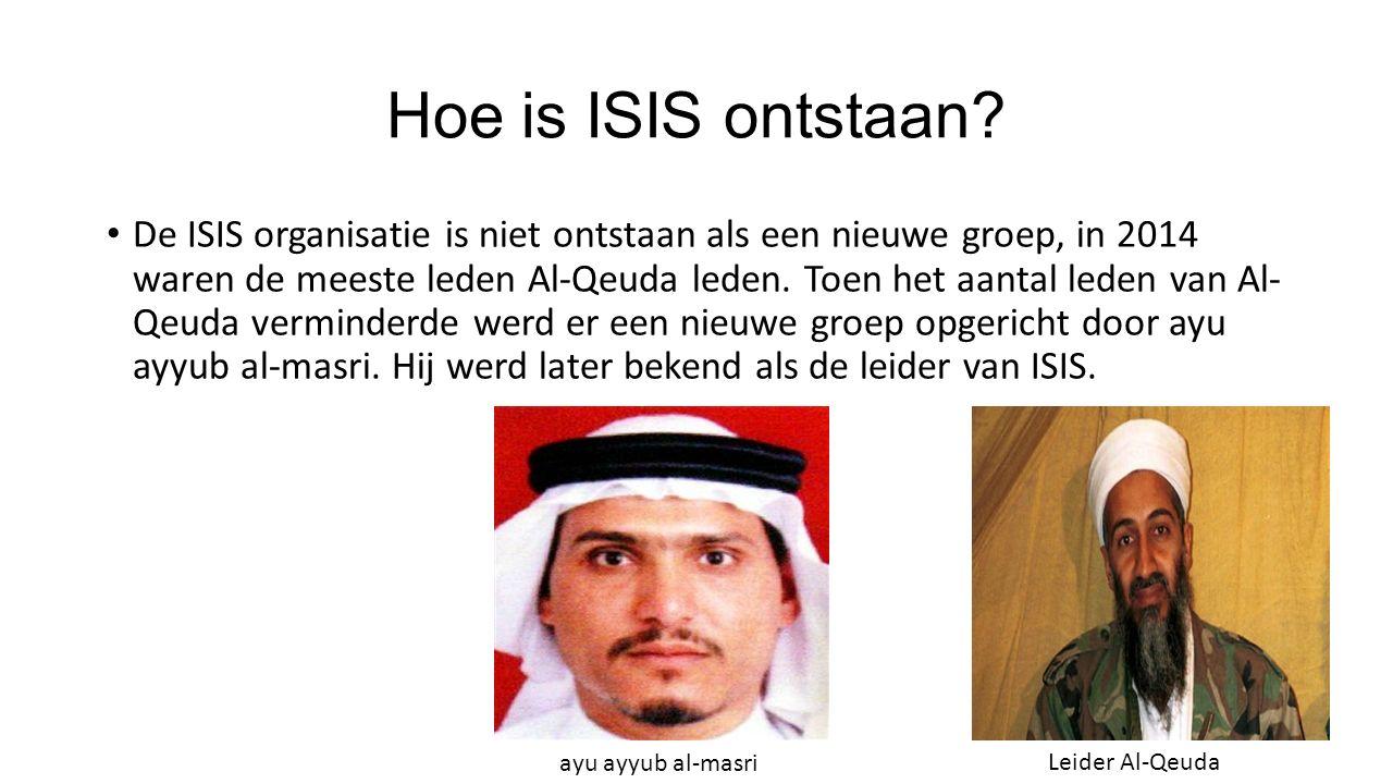 Hoe is ISIS ontstaan