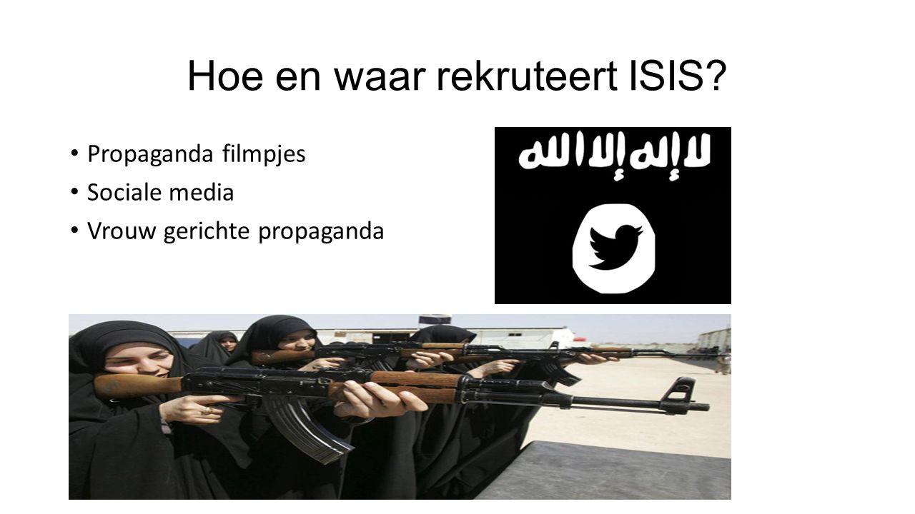 Hoe en waar rekruteert ISIS