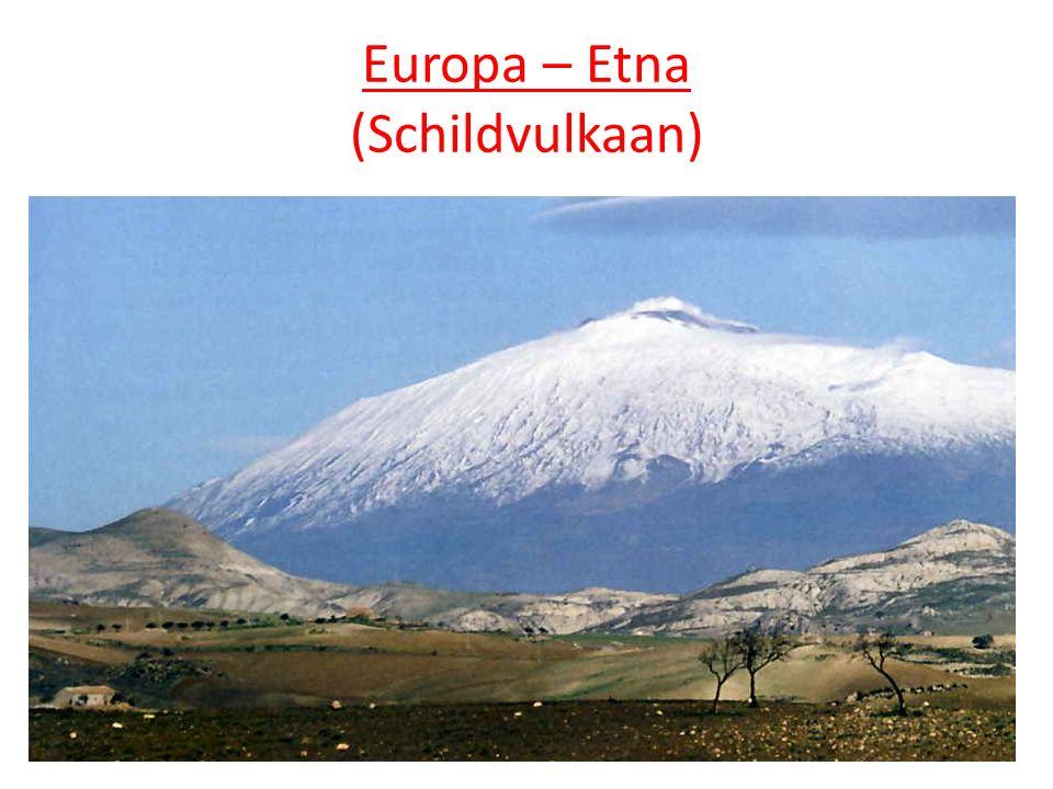 Europa – Etna (Schildvulkaan)