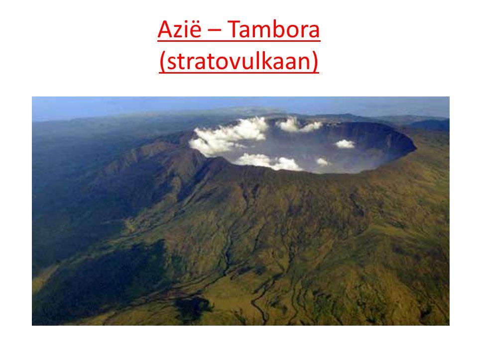 Azië – Tambora (stratovulkaan)