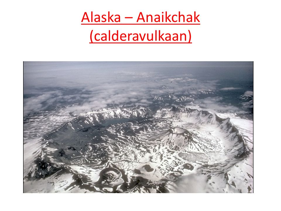 Alaska – Anaikchak (calderavulkaan)