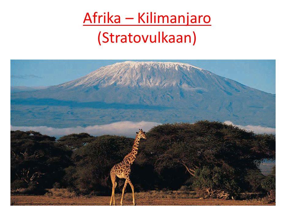 Afrika – Kilimanjaro (Stratovulkaan)