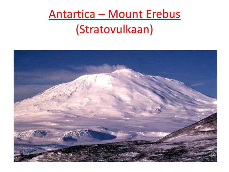 Antartica – Mount Erebus (Stratovulkaan)