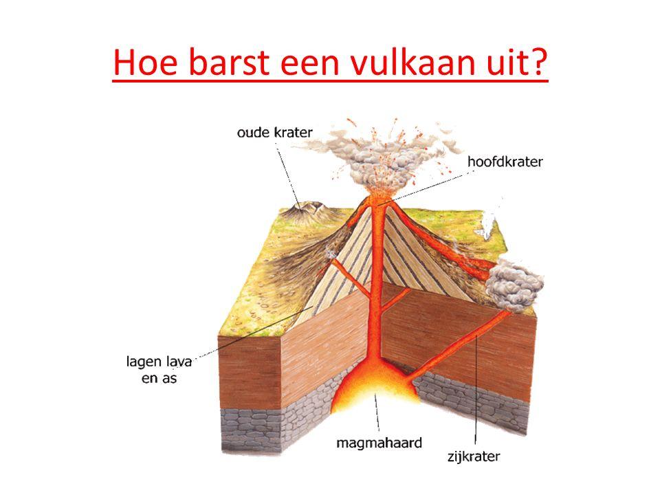 Hoe barst een vulkaan uit