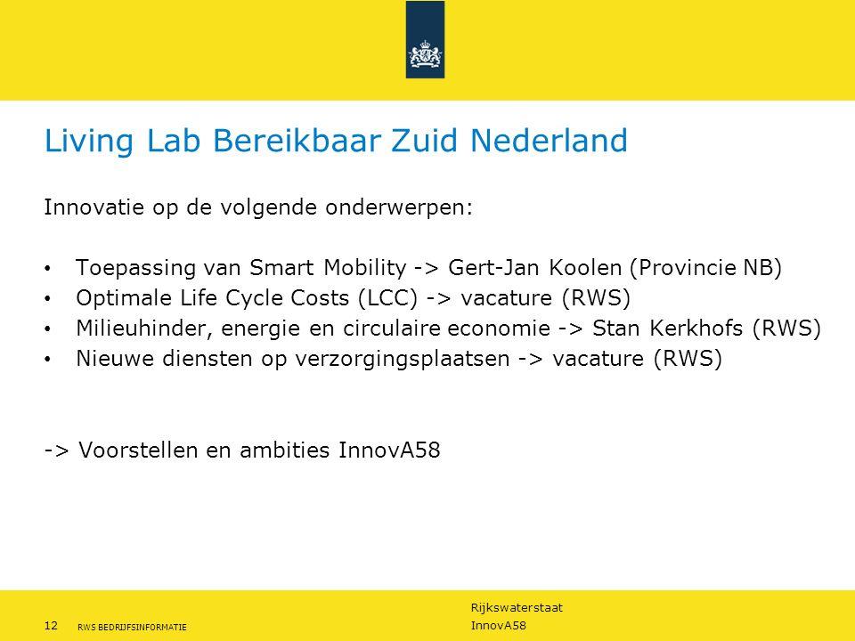 Living Lab Bereikbaar Zuid Nederland