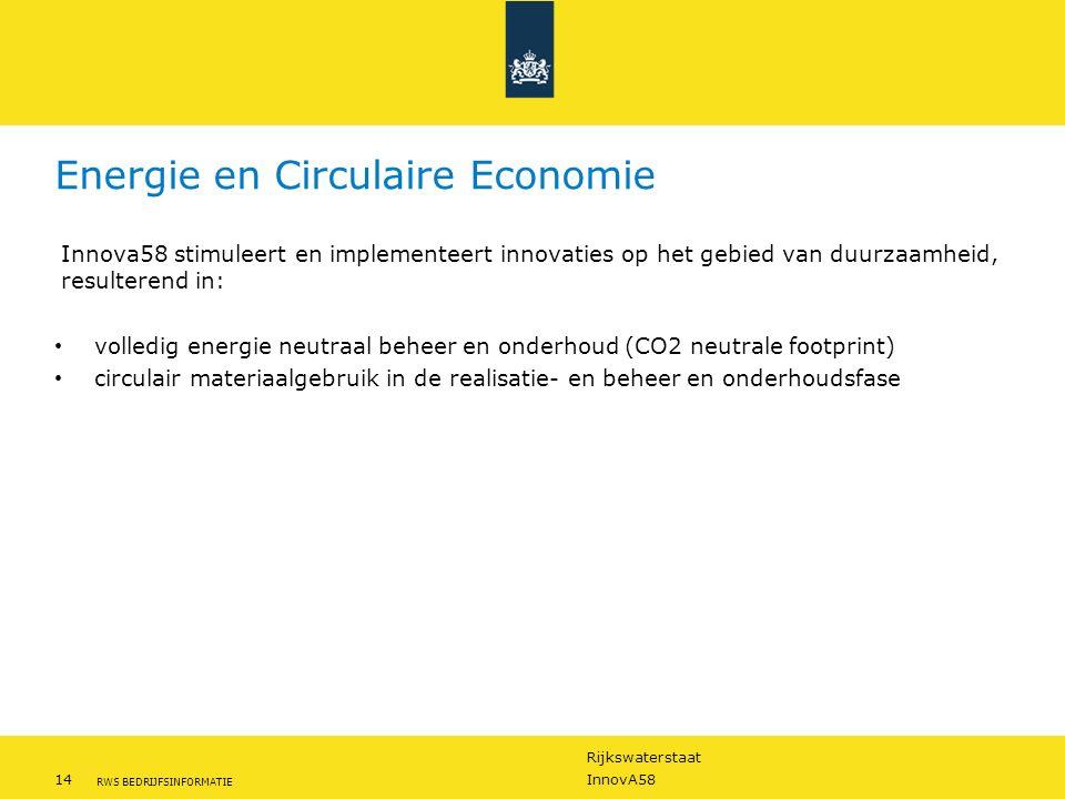 Energie en Circulaire Economie