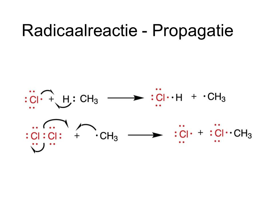 Radicaalreactie - Propagatie