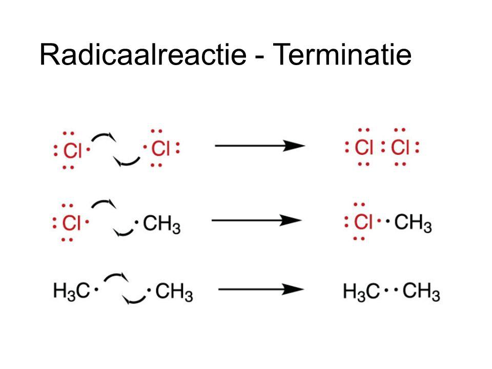 Radicaalreactie - Terminatie