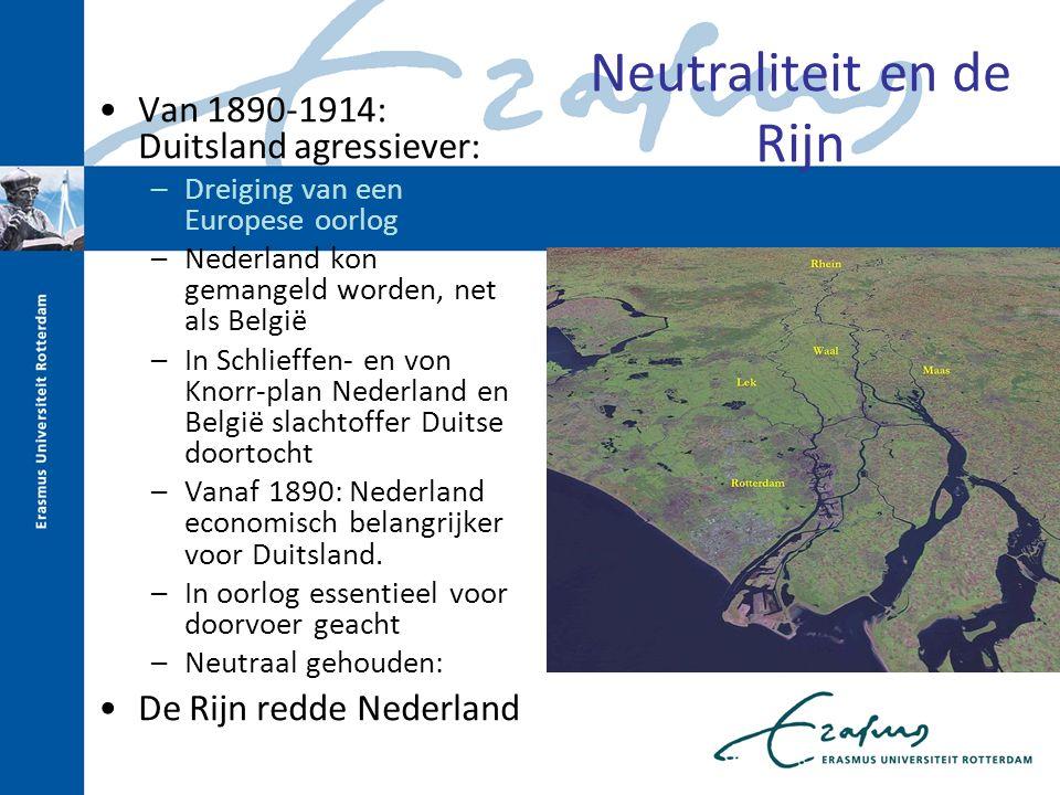 Neutraliteit en de Rijn