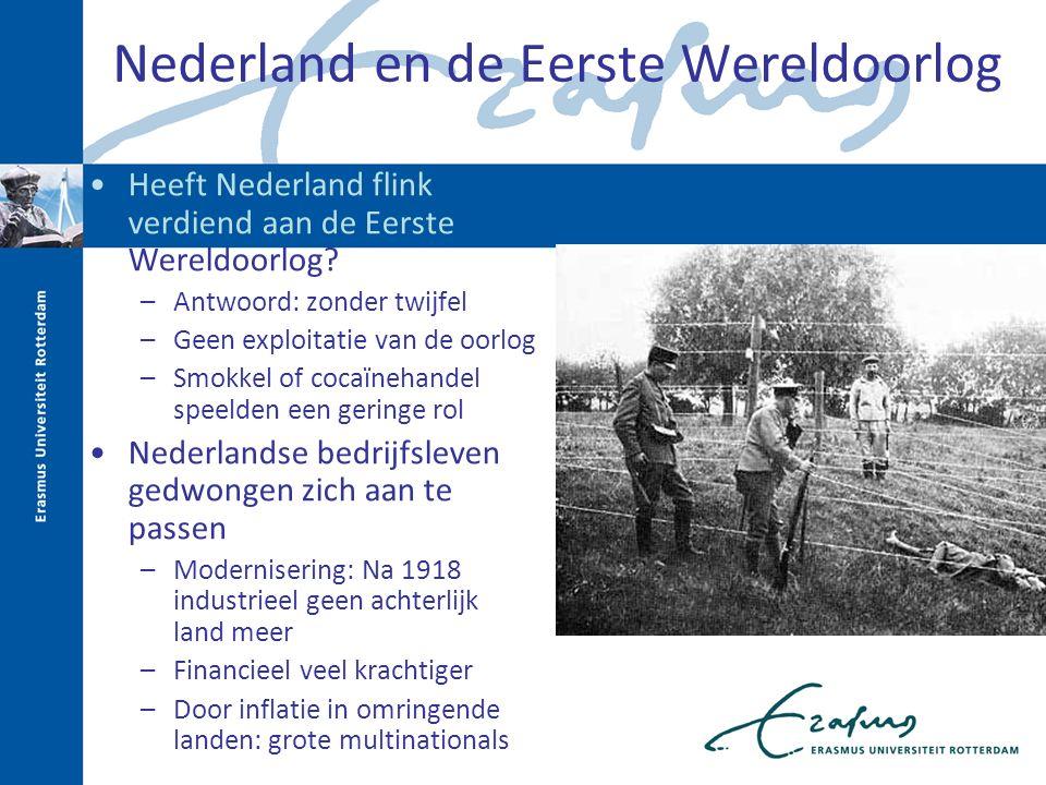 Nederland en de Eerste Wereldoorlog