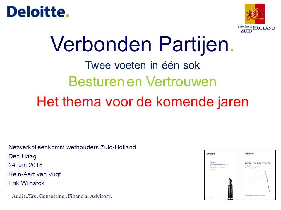 Verbonden partijen Zuid-Hollandse gemeenten (1)