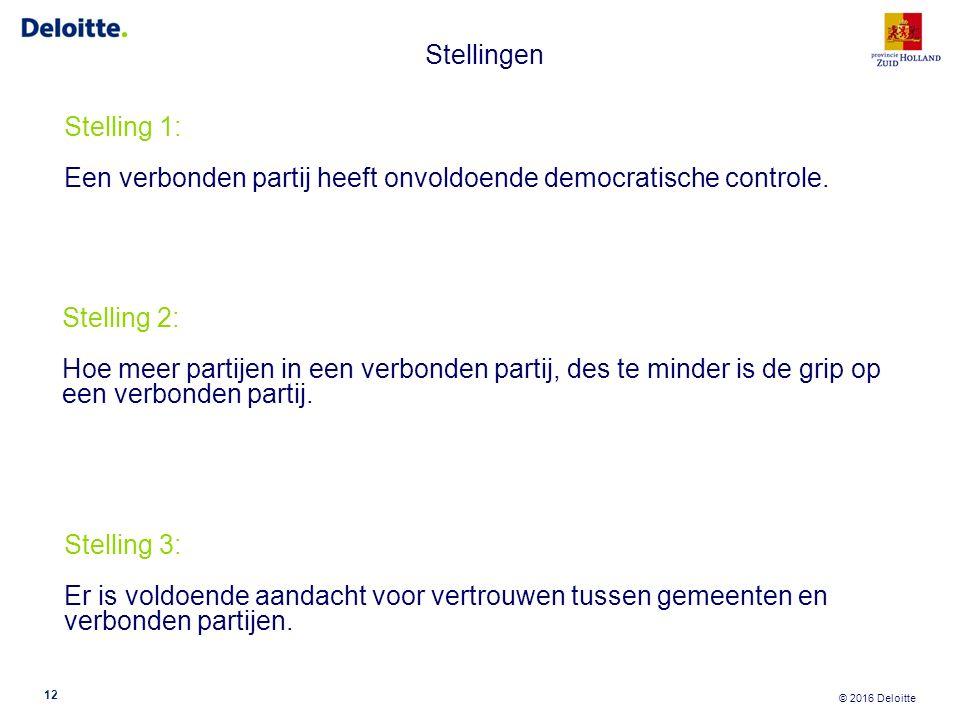 Stelling 5: Kies bestuurders op basis van competenties