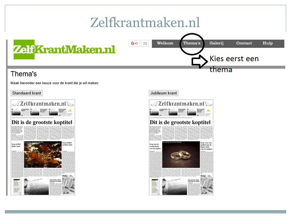 Zelfkrantmaken.nl