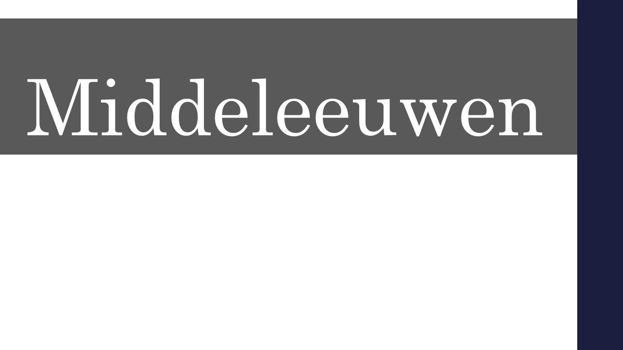 Middeleeuwen D.m.v. Denken – Uitwisselen : Waar komt nou de naam middeleeuwen vandaan 2 min om hier even een aantal argumenten voor te bedenken.