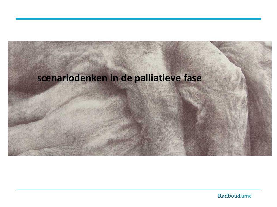 scenariodenken in de palliatieve fase Eric Aalsma
