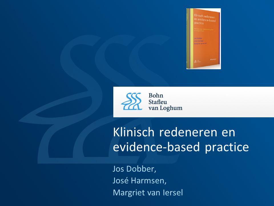 Klinisch redeneren en evidence-based practice