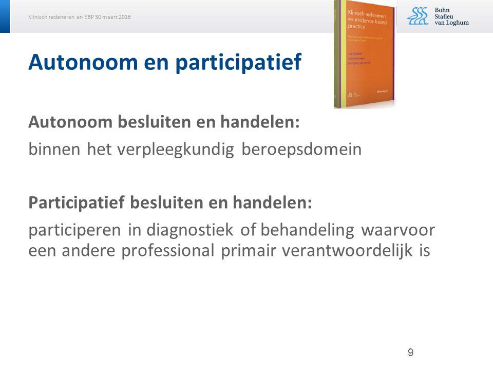 Autonoom en participatief