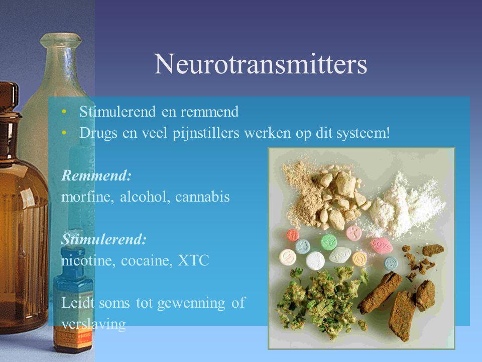 Neurotransmitters Stimulerend en remmend