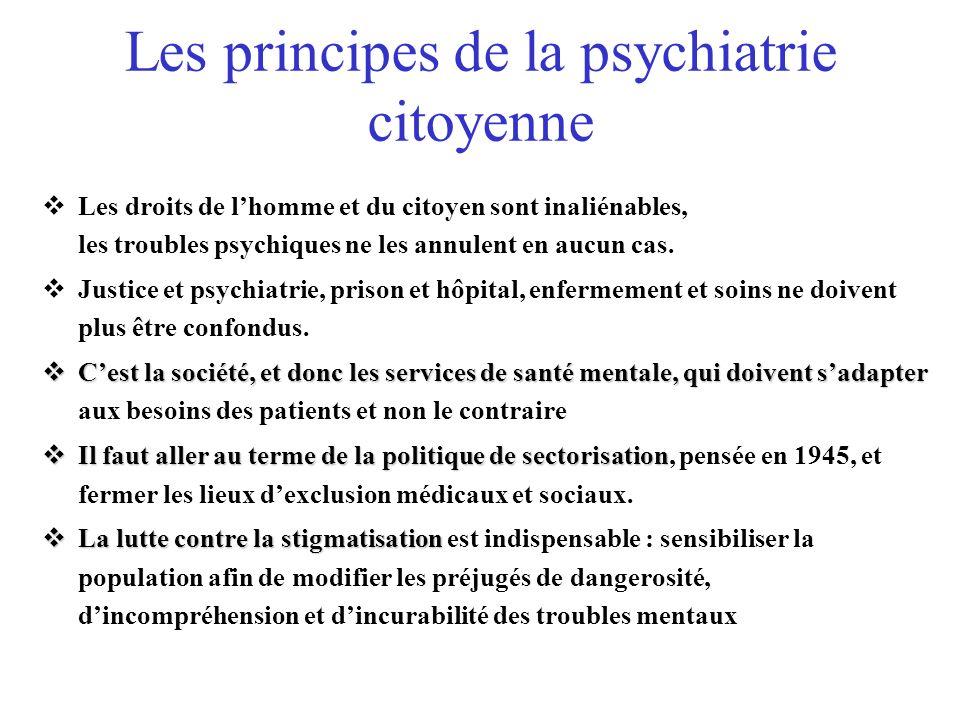 Les principes de la psychiatrie citoyenne