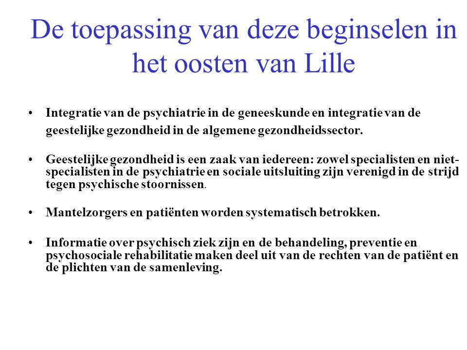 De toepassing van deze beginselen in het oosten van Lille