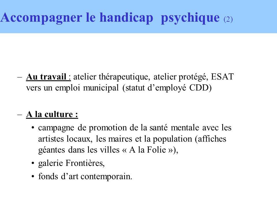 Accompagner le handicap psychique (2)