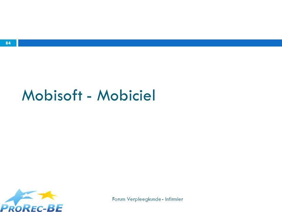Mobisoft - Mobiciel Forum Verpleegkunde - Infirmier
