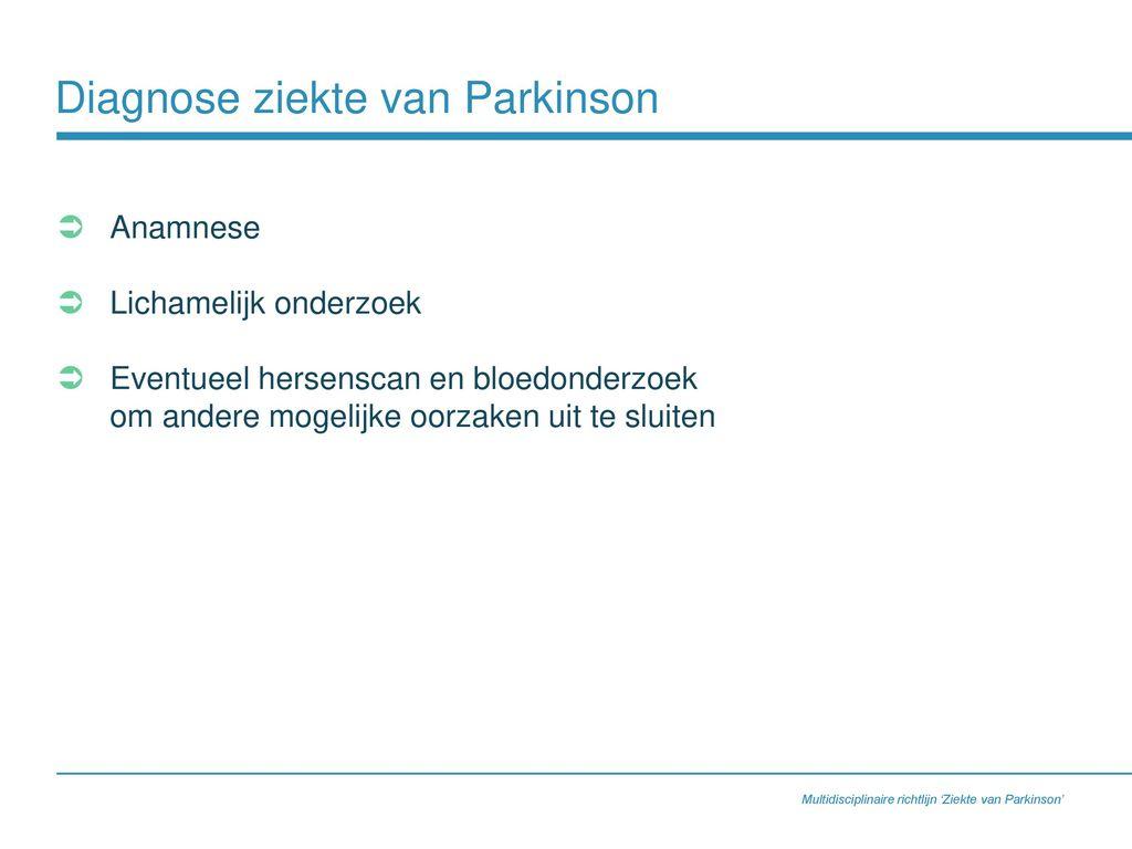 richtlijn parkinson