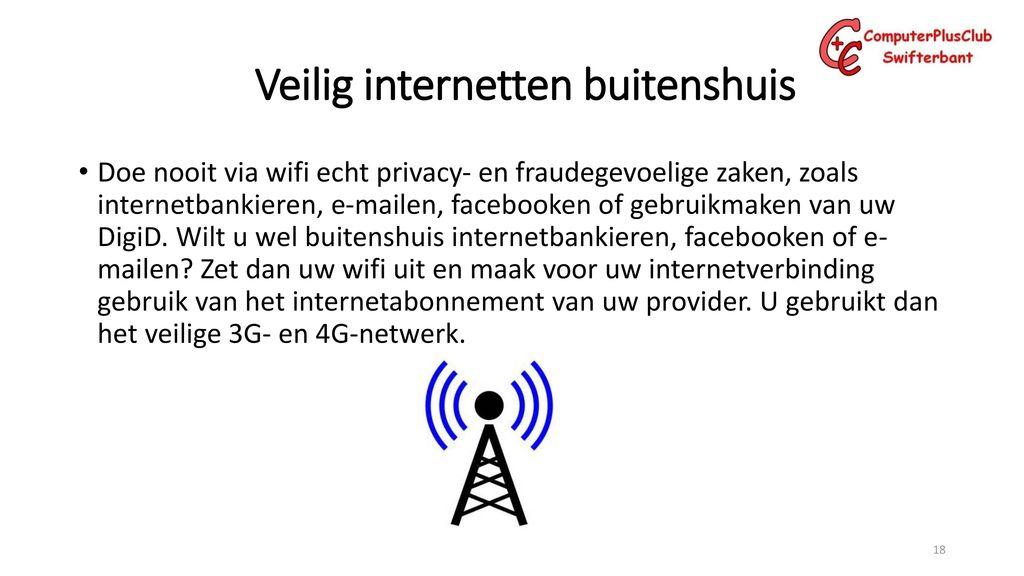 openbare wifi veilig
