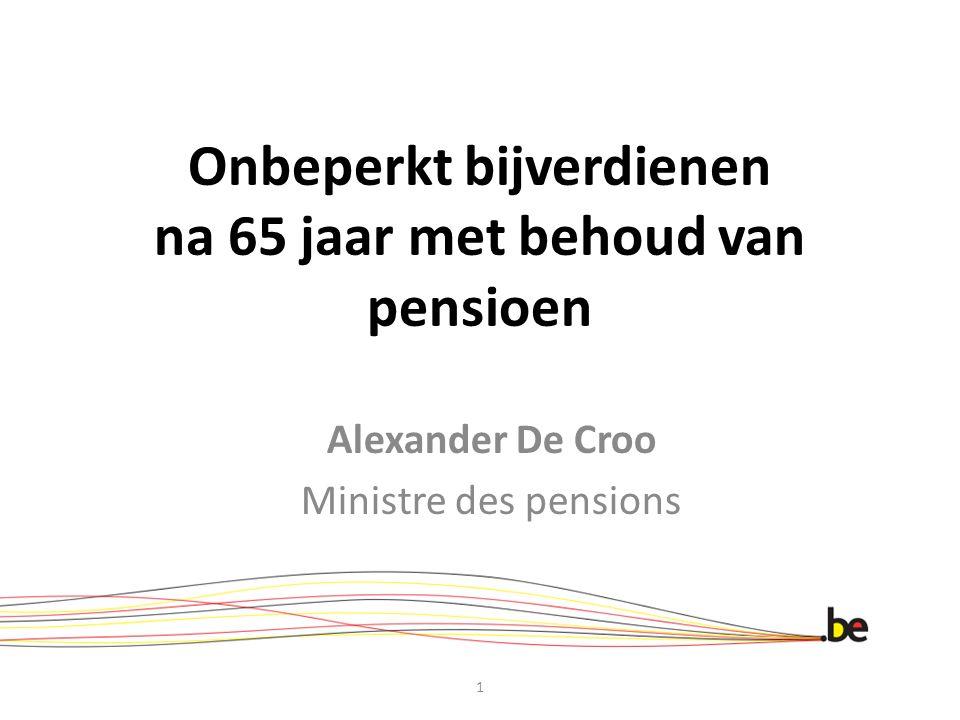 Onbeperkt bijverdienen na 65 jaar met behoud van pensioen