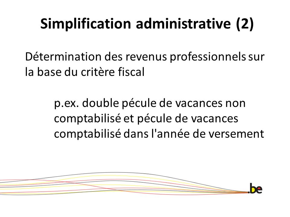 Simplification administrative (2)