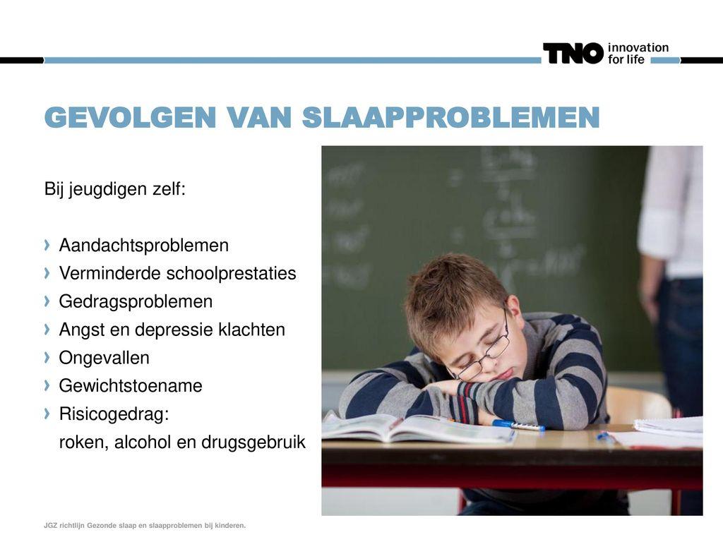 Gevolgen van slaapproblemen