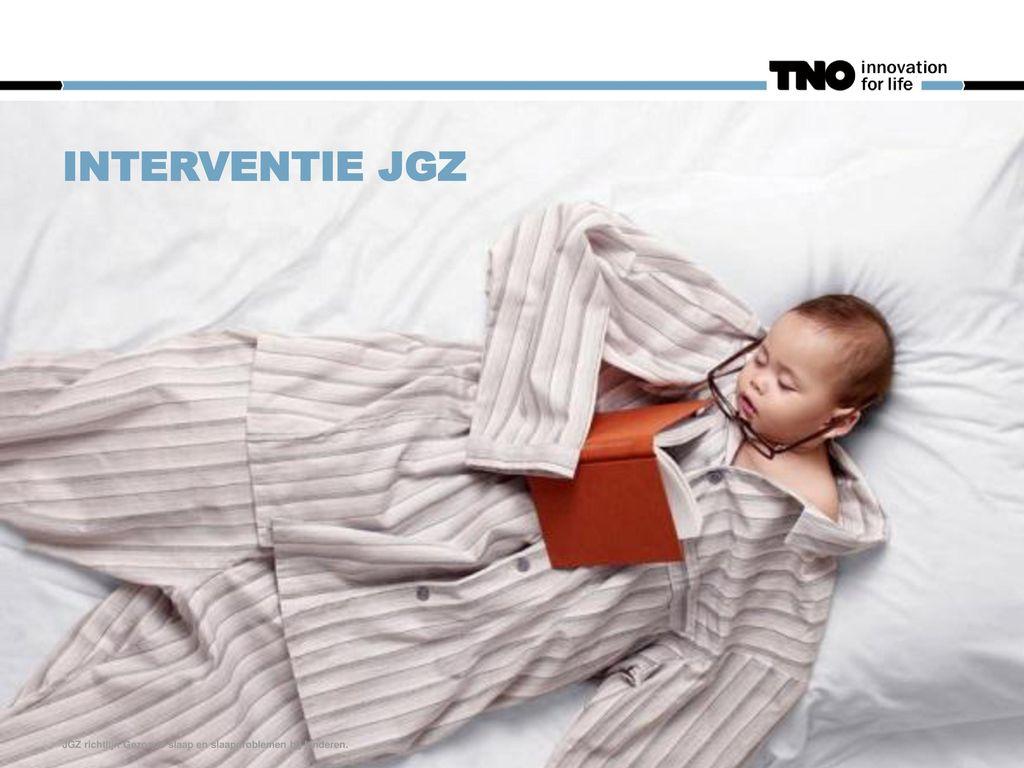 Interventie JGZ JGZ richtlijn Gezonde slaap en slaapproblemen bij kinderen.