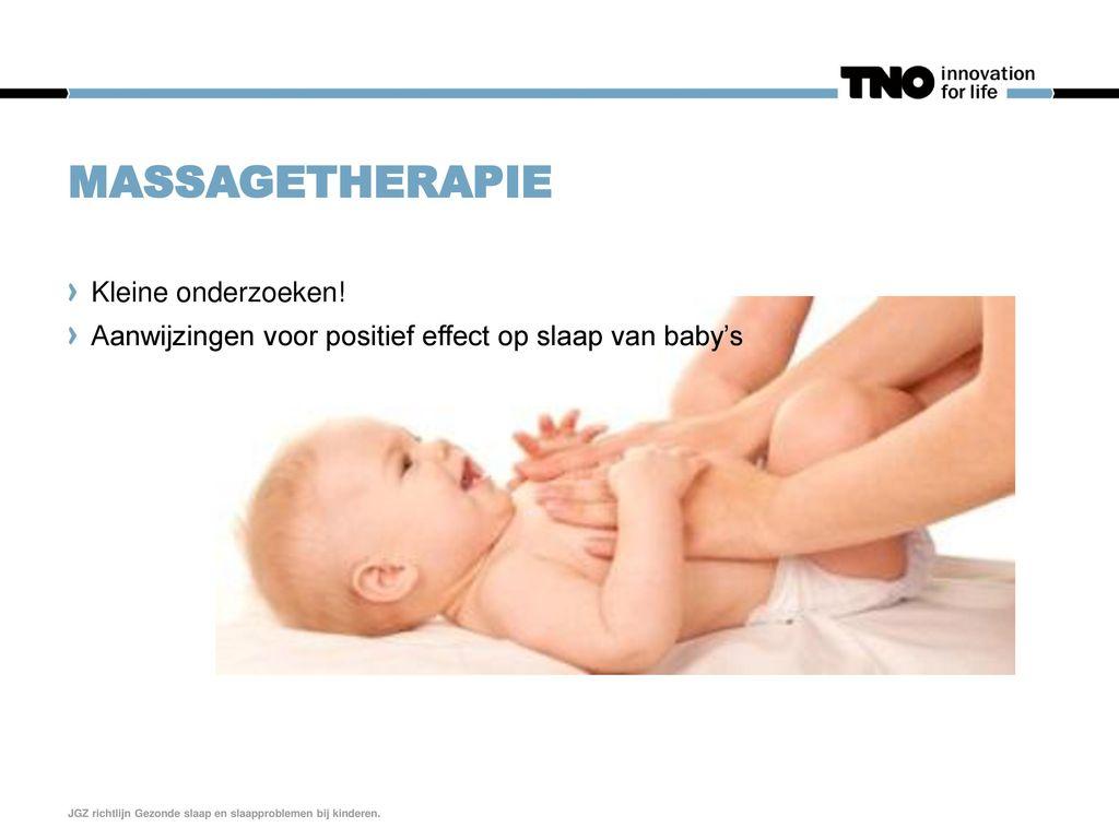 Massagetherapie Kleine onderzoeken!