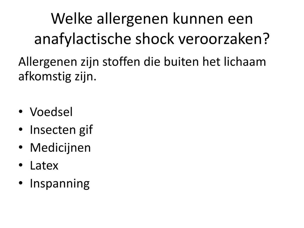 anafylactisch