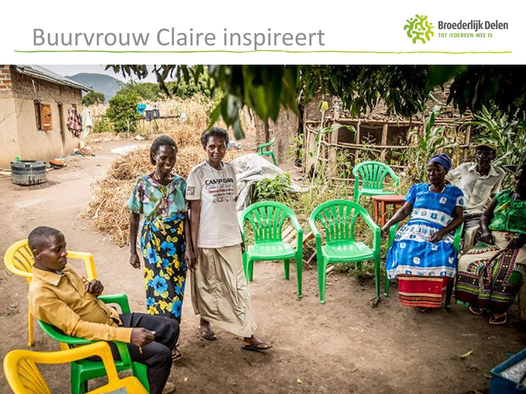 Buurvrouw Claire inspireert
