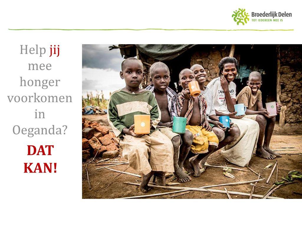 Help jij mee honger voorkomen in Oeganda