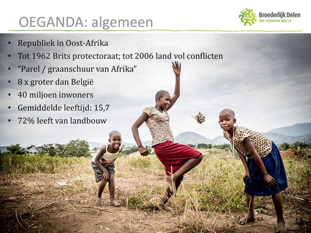 OEGANDA: algemeen Republiek in Oost-Afrika